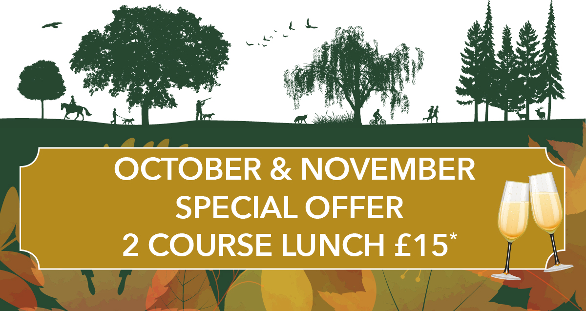 Special Offer – 2 Course Lunch for £15.00!